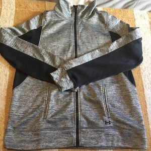 Under armour zip up sweater